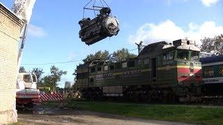 Bu lokomotiv bo'yicha dizel dvigatel olishdan 2TE116 / loco 2TE116 dizel dvigateli olishdan