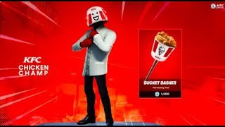*NEW* Kentucky Fried Chicken Themed Skin MIGHT be coming to Fortnite Battle Royale