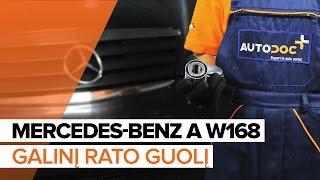 Elementarūs Mercedes W177 remonto darbai, kuriuos turėtų žinoti kiekvienas vairuotojas