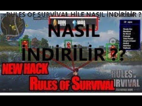 RULES OF SURVİVAL BÜTÜN HİLELERİN KURULUMU TANITIMI !!