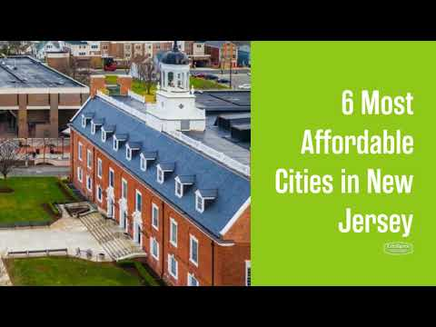 Most Affordable Places to Live in New Jersey