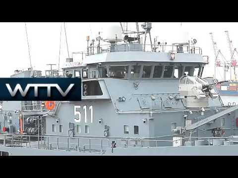 Ukraine: Four NATO ships arrive in Odessa port