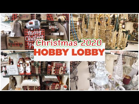 Hobby Lobby Christmas 2020~ Christmas Ornaments And Decor