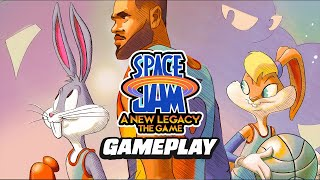 14 Minutes of Space Jam A New Legacy Gameplay