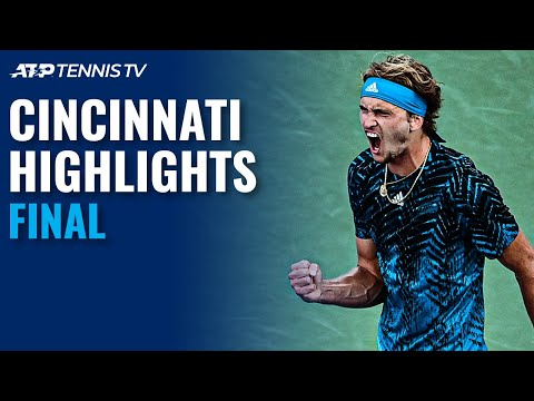 Andrey Rublev vs Alexander Zverev In Title Decider | Cincinnati 2021 Final Highlights