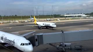 Comings and Goings at Birmingham Airport
