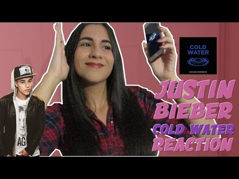 "JUSTIN BIEBER ""COLD WATER"" REACTION 