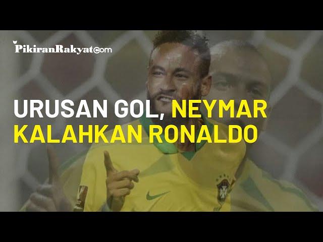 Neymar Kalahkan Ronaldo dalam Urusan Gol, Terbuka Kesempatan Ukir Rekor Baru