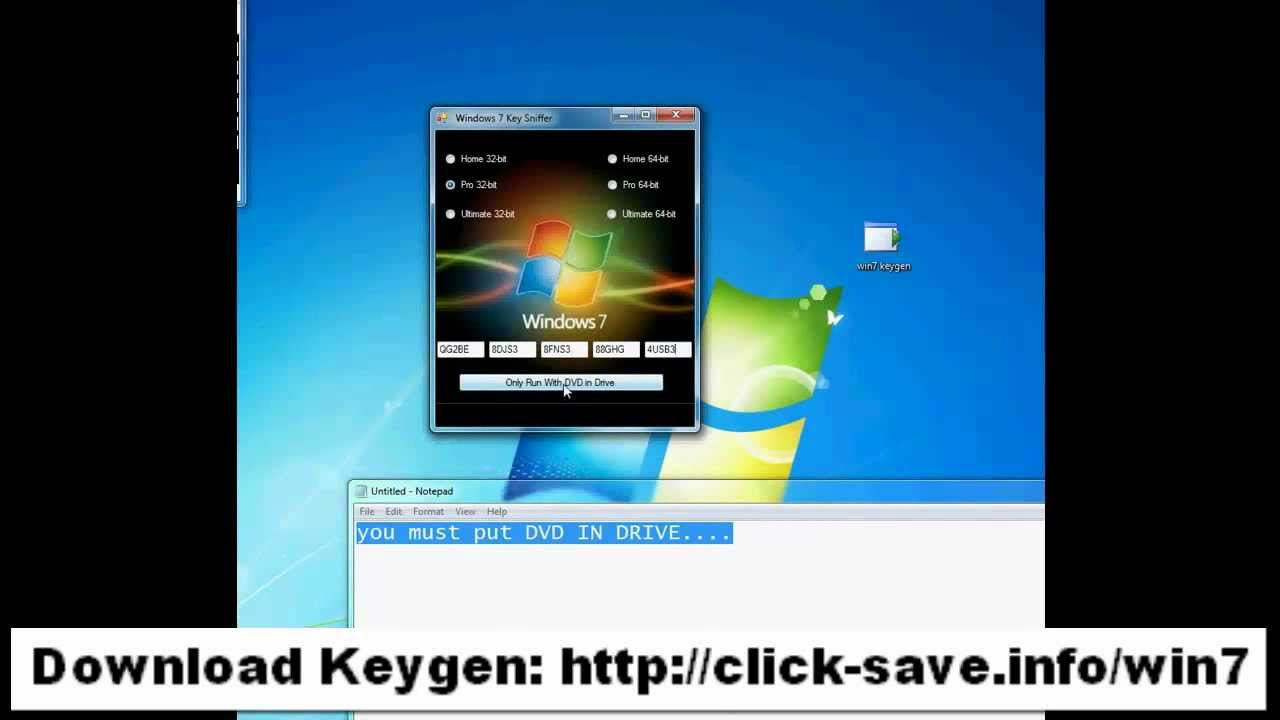 Windows 7 extreme key generator online