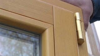 Современные окна из дерева(Особенности современных деревянных окон со стеклопакетом. Деревянные окна из сосны, лиственницы, дуба..., 2015-03-22T14:06:38.000Z)
