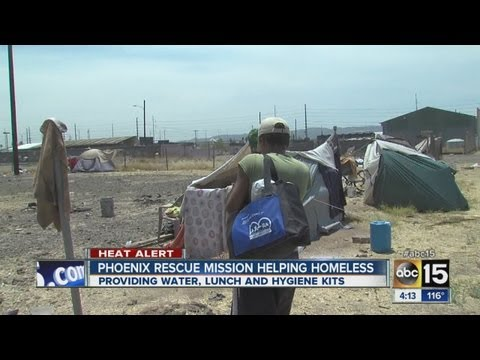 Phoenix rescue mission helping homeless