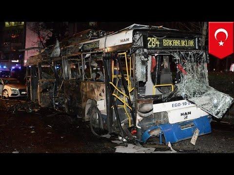 Turkey explosion: Car bomb kills at least 34, injures 125 in Ankara - TomoNews
