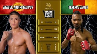 HKFN VIII Terrence Sameh hard as stone african VS Atabek Abdimitalipov one to watch coming up