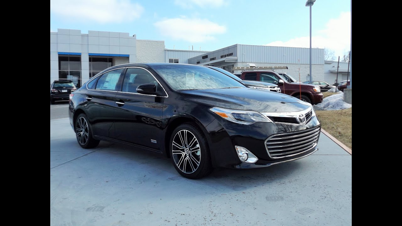 2015 toyota avalon xle touring sport edition se start up. Black Bedroom Furniture Sets. Home Design Ideas