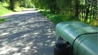 NORMAG Traktor on tour im Lamer Winkel (Bayerischer Wald)