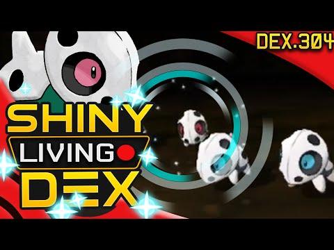 SHINY ARON! Live Reaction! Quest For Shiny Living Dex #304   Pokemon ORAS!