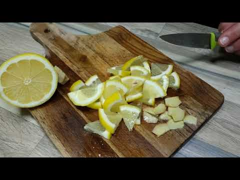 Ginger Lemon for Fast Weight Loss and Detox Drink