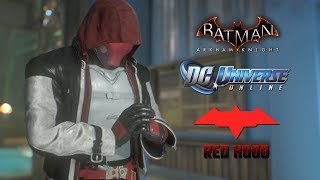 SKIN; Batman; Arkham Knight; DCUO Style Red Hood