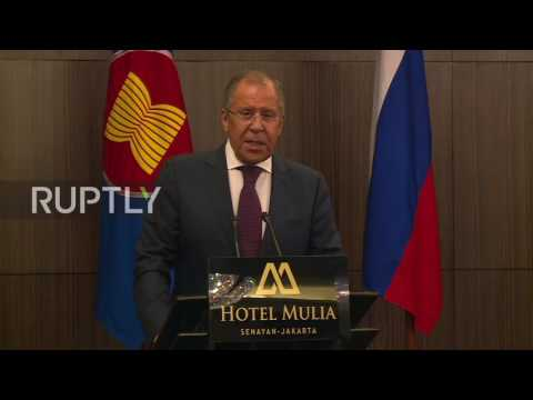 Indonesia: Lavrov opens permanent Russian mission to ASEAN in Jakarta