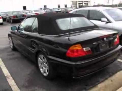 2000 Bmw 3 Series 323ci 2dr Convertible Convertible