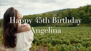 Happy 45th Birthday Angelina Jolie