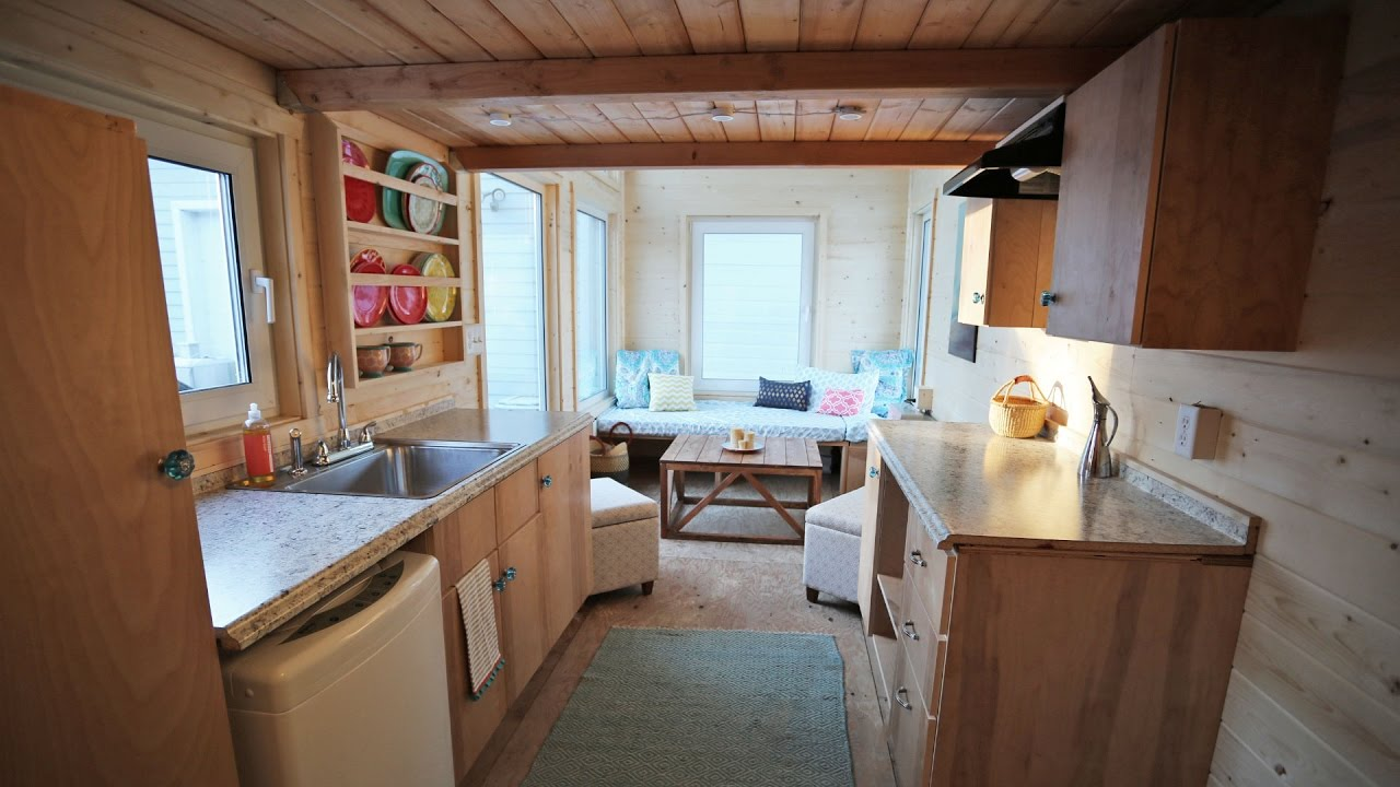 The Wild Rose Amazing 24 Tiny House on Wheels Tour YouTube – 24 Foot Tiny House Floor Plans