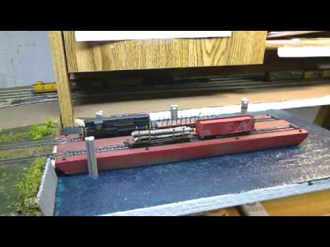 N scale Gulf Summit RR Barge loading detail