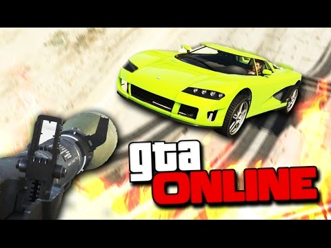 GTA 5 Online (ЭПИК) -  RPG VS STUNTERS! #96