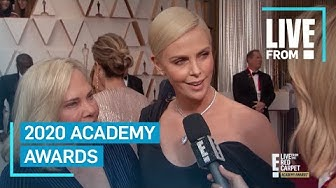 Charlize Theron Wins Best Date Award at 2020 Oscars | E! Red Carpet & Award Shows