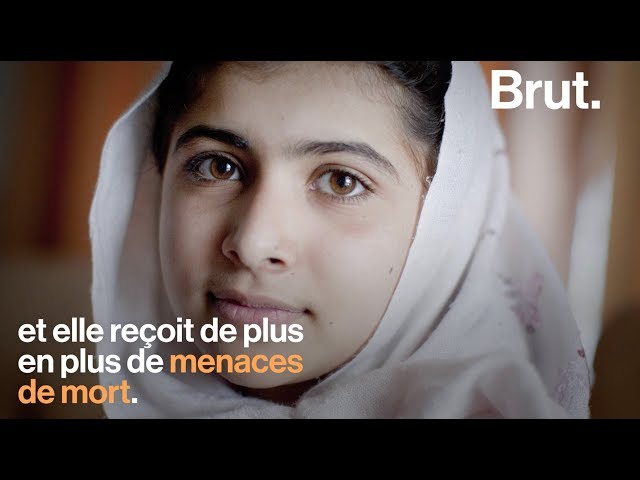 Portrait de Malala