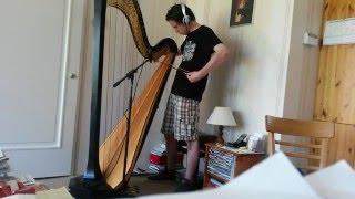 Bowing on Harp - The perfect door squeak