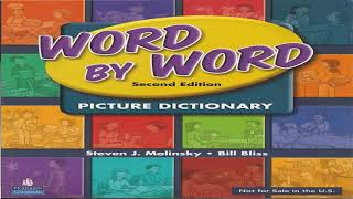 Word By Word Picture Dictionary Introduction CD2