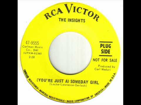 The Insights - (You're Just A) Someday Girl.wmv