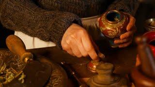 Preparing an Order at the Apothecary Shop | Cinematic ASMR (no talking)