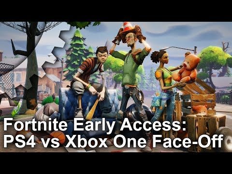 Fortnite Early Access: PS4/ Pro vs Xbox One Graphics Comparison + Frame-Rate Test