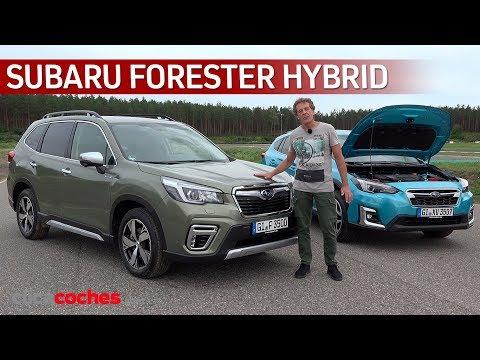 Subaru Forester Hybrid 2020 | Primera prueba | Review en español - Clicacoches.com