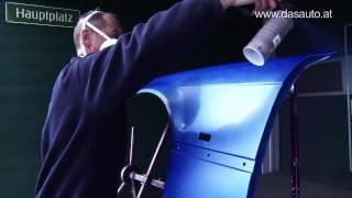 Easy Repair - Kotflügel lackieren mit Spraydose [HD] mit Untertitel