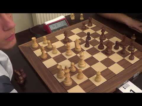 GM Lintchevski Daniil - NM Stepins Edgars, Rapid chess, 4 knights opening