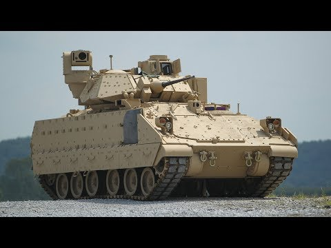 M2 Bradley Vehicles Demonstrate Combat Power