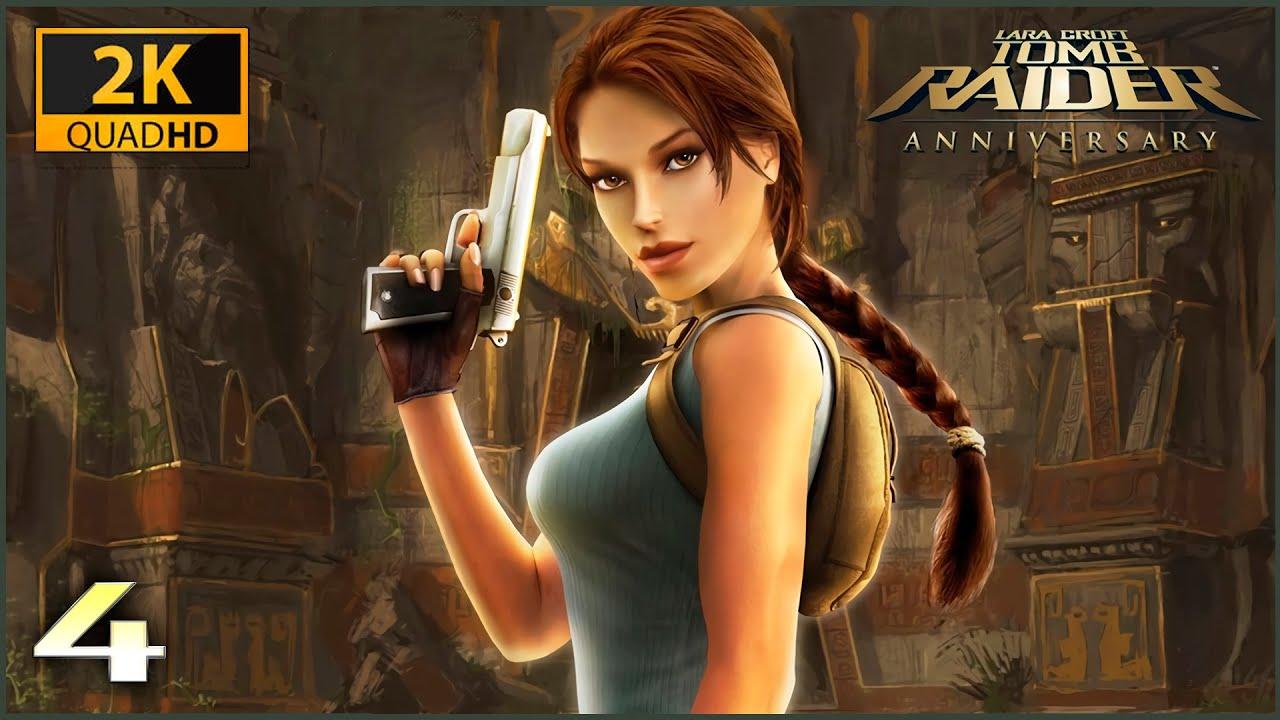 The Elderly Gamer: Tomb Raider Anniversary Walkthrough (ps2)