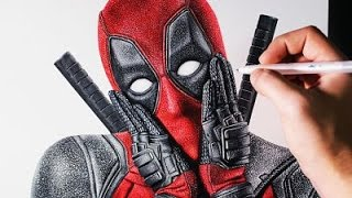 Cómo Dibujar A Deadpool Super Realista Paso A Paso Muy Fácil 2021 Dibuja Fácil