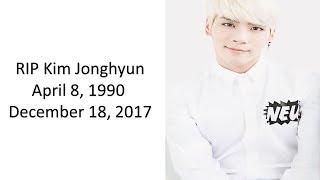 RIP Kim Jonghyun Video Tribute