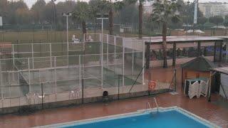 El Huracán Leslie convertido enTormenta Tropical por Málaga
