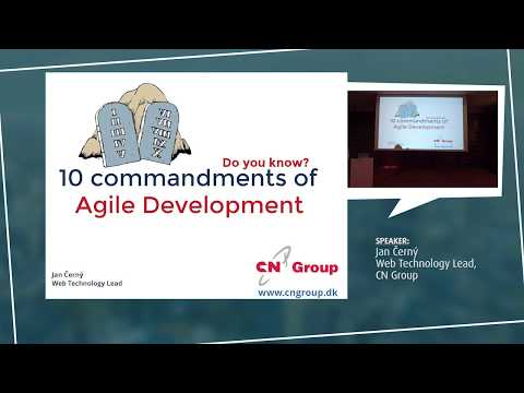 10 Commandments of Agile Development by JAN ČERNÝ - European