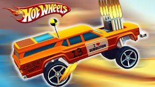 ИЗБРАННЫЕ ТАЧКИ! Гонки на машинках ХОТ ВИЛС Мульт Игра для детей Hot Wheels Race Off