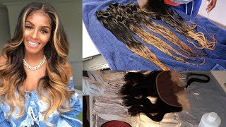 How to bleach bundles from black to blonde with no damage | RHONDA WHITE INSPO