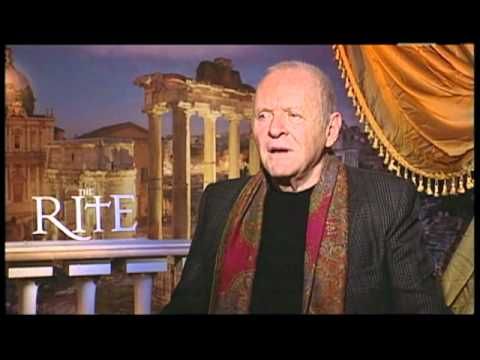 Anthony Hopkins Interview for THE RITE