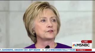 """Dianne Feinstein says Hillary is """"hurting"""""""
