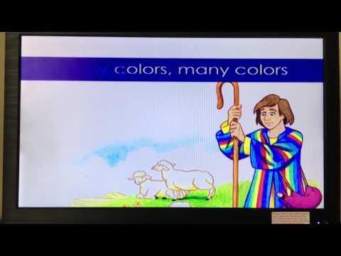 Joseph's Coat of many colors