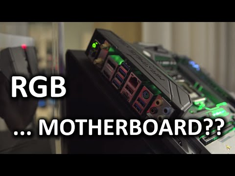 Crazy ASUS Camo Motherboard & RGB Lighting Everywhere - CES 2016